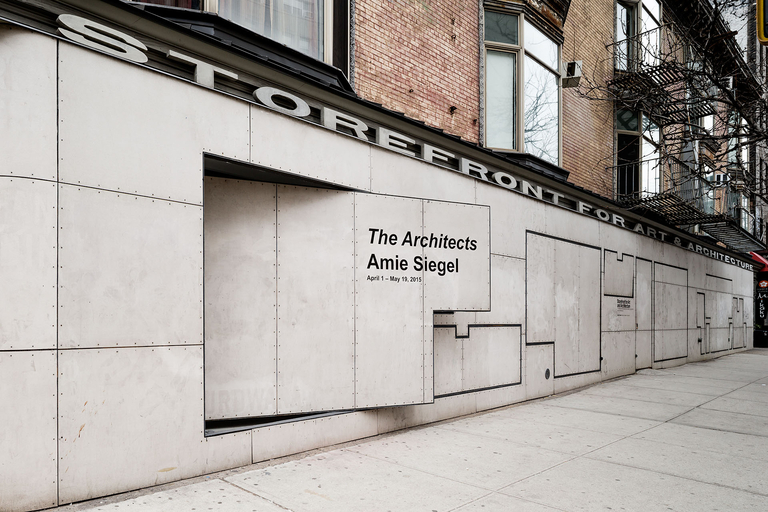 storefront for art and architecture programming exhibitions the