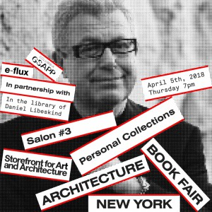 NYABF Salon_Daniel Libeskind